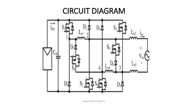 circuit diagram of transformerless inverter