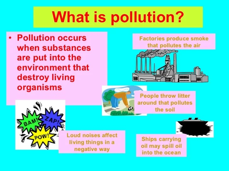 Air Pollution Grade 6 Assignment Intro By E Baird C 2008