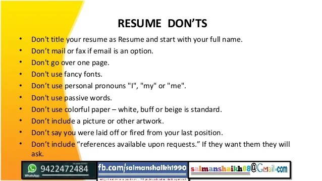 how to name your resume - Ozilalmanoof