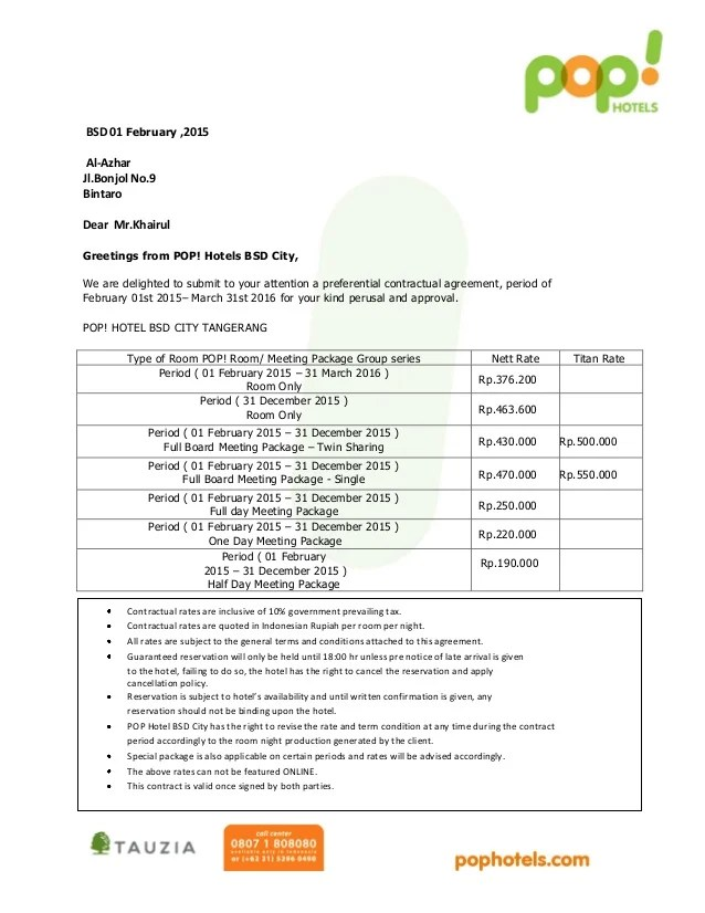 contoh invoice hotel - Akbagreenw - hotel invoices