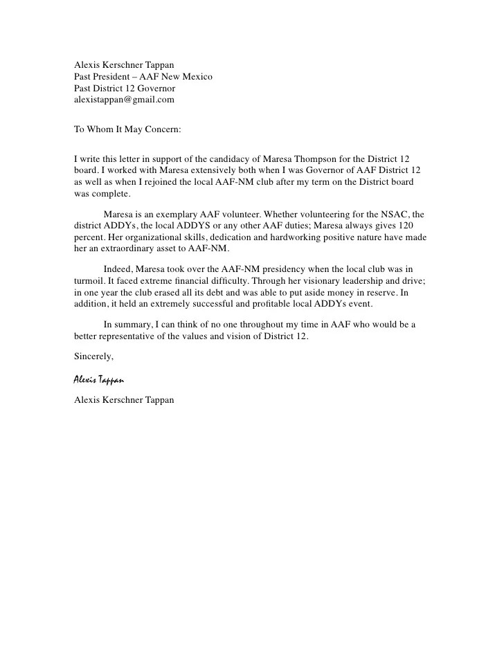 Social work letter of recommendation sample cover letter best photos cover letter expocarfo