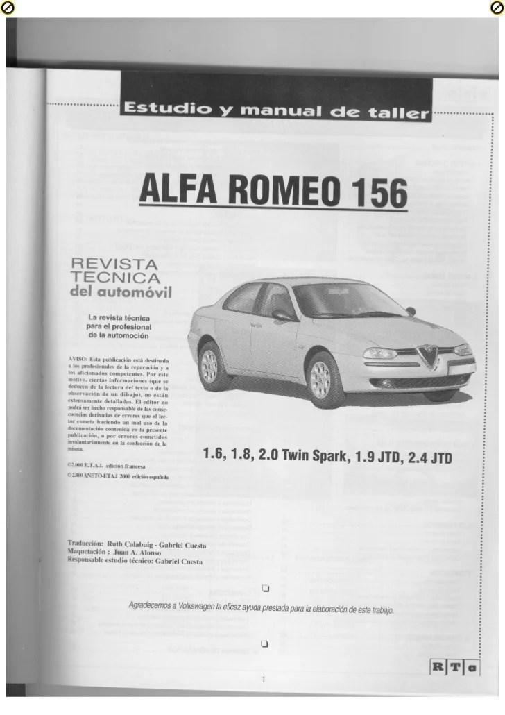 Alfa Romeo 156 Selespeed Wiring Diagram Schematic Diagram
