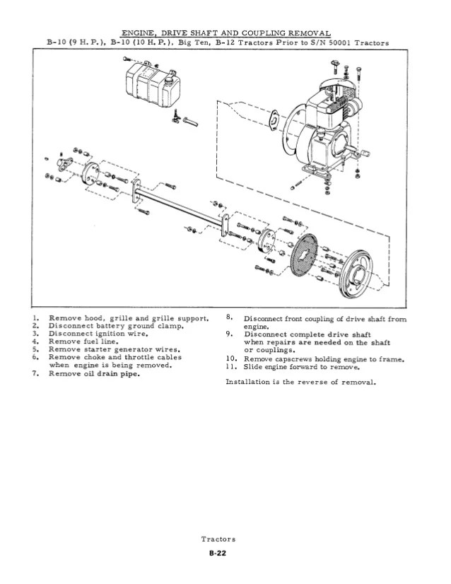 1940 allis chalmers b wiring diagram