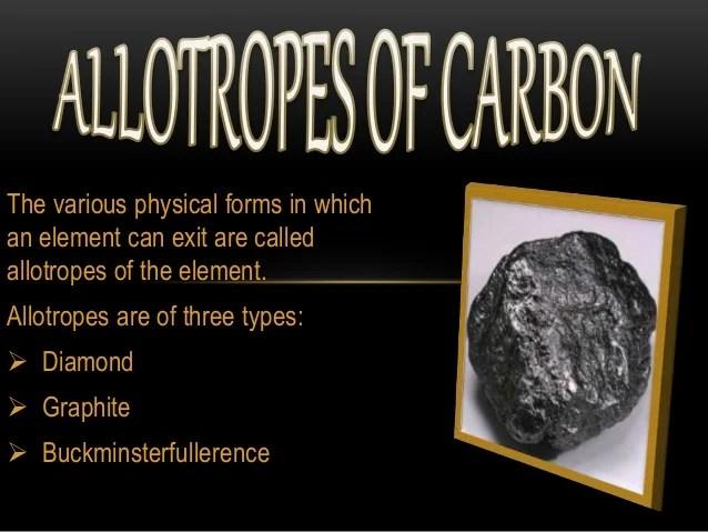 carbon forms