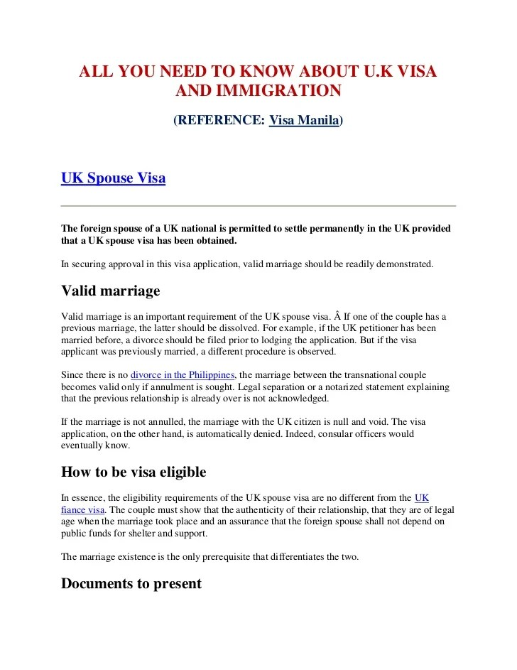 Sample Invitation Or Sponsorhip Letter For Parent To Vist Uk All You Need To Know About Uk Visa And Immigration