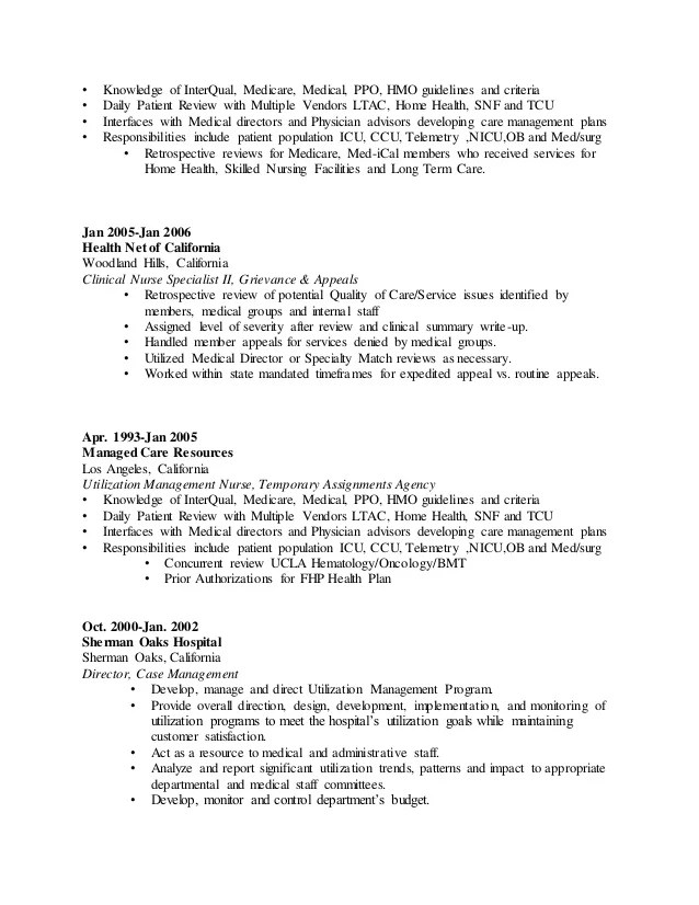 nursing home rn resume - Josemulinohouse - health insurance nurse sample resume