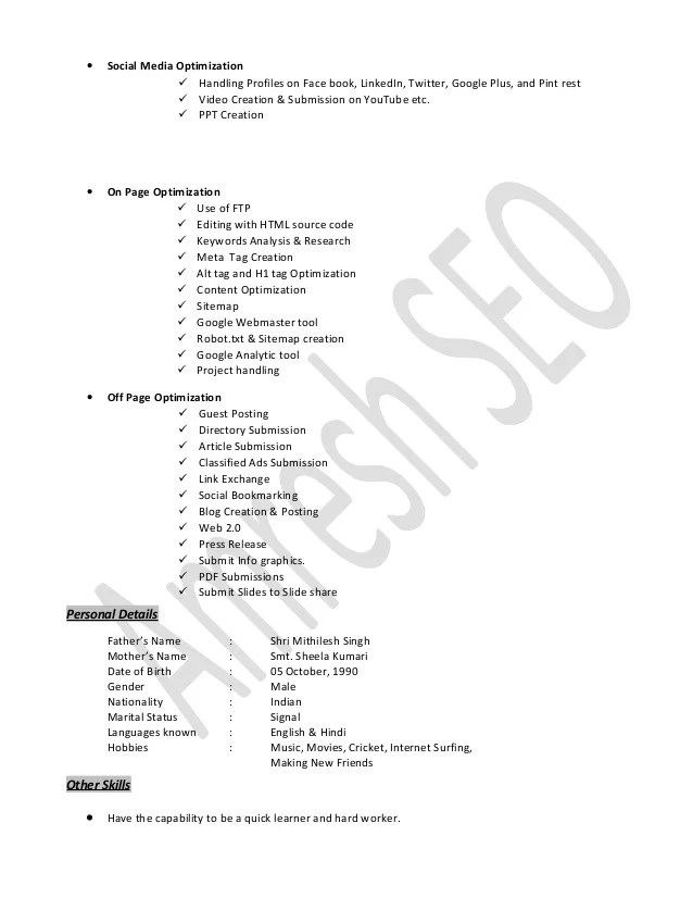 Seo Specialist Sample Resume Top 8 Seo Specialist Resume Samples 1 - seo specialist sample resume