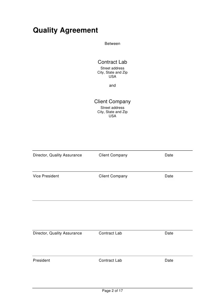 samples of contract agreements - Kubreeuforic