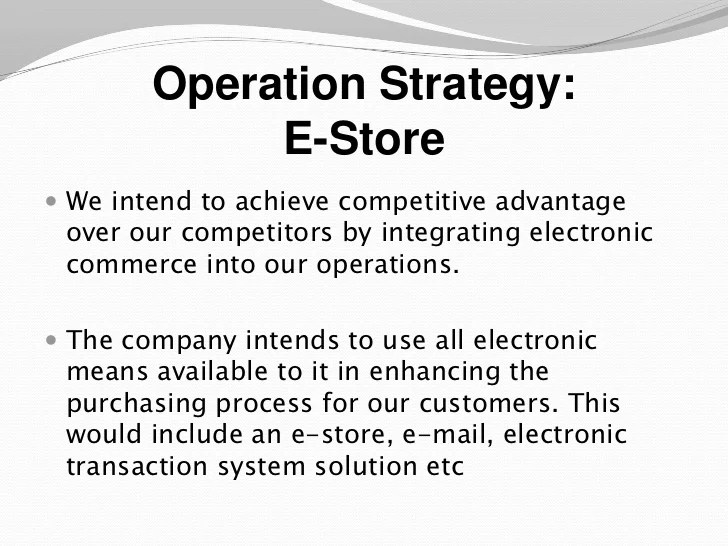 business operations plan template - Onwebioinnovate - operational plan template
