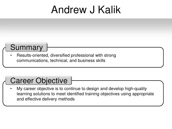 what is my career objective - Ozilalmanoof - what are my career objectives