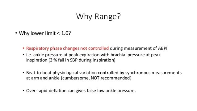 Ankle Brachial Pressure Index Abpi