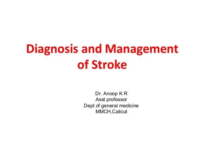 Stroke Management