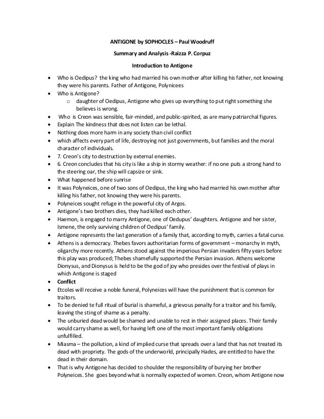 Antigone Analysis Essay  Auto Electrical Wiring Diagram Antigone Introduction Essay Business Etiquette Essay also Is Psychology A Science Essay  Health And Wellness Essay