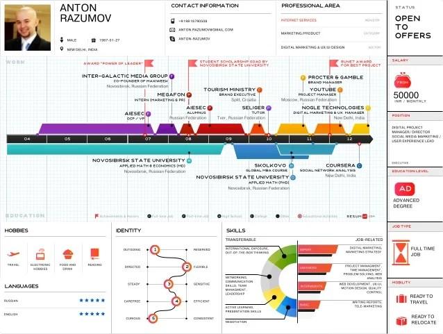 Resume Samples Infographic Cv