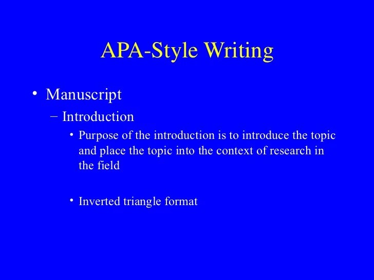 apa style in word