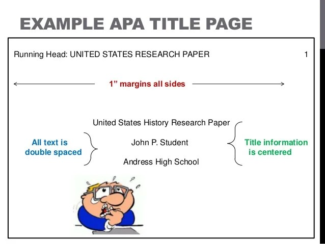 cover page for essay apa images of apa th edition reference template