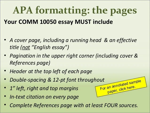 apa formatting guidelines - Minimfagency - paper formatting guidelines