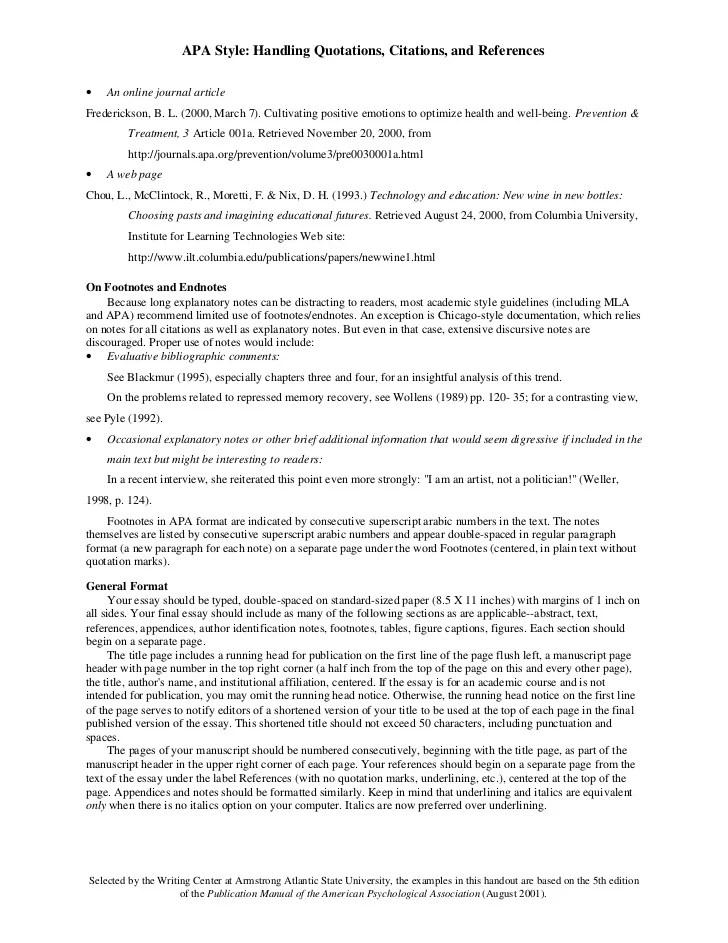apa citation format example paper - Solidgraphikworks