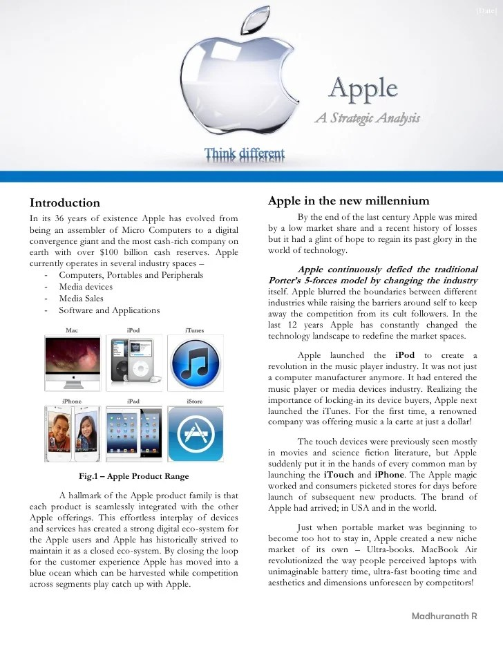Case Study Templates 19 X Ms Word How To Write Tutorial Case Analysis Apple Strategy For Next Decade