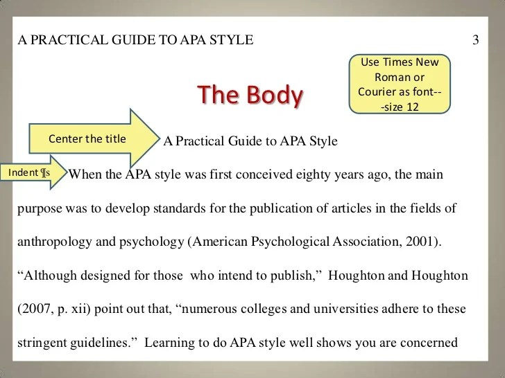 apa style for textbooks
