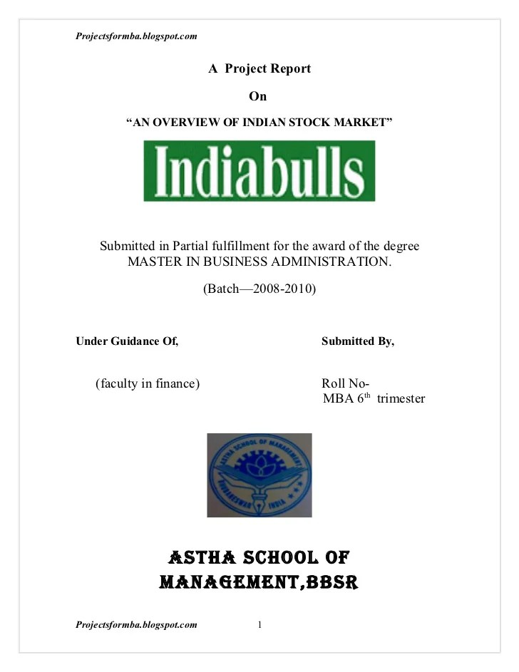 MBA Dissertation Proposal-A Step by Step Guidelines for Students ...
