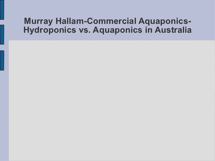 Aquaponics Food Factories