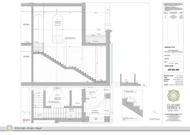 schematic design schedule example