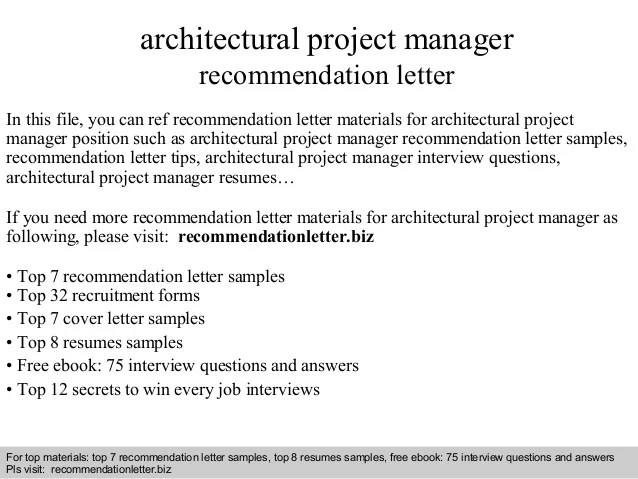 recommendation letter examples for jobs