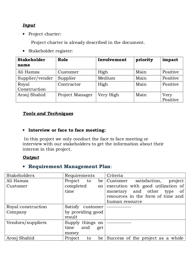 construction project charter sample - Ozilalmanoof - project charter template