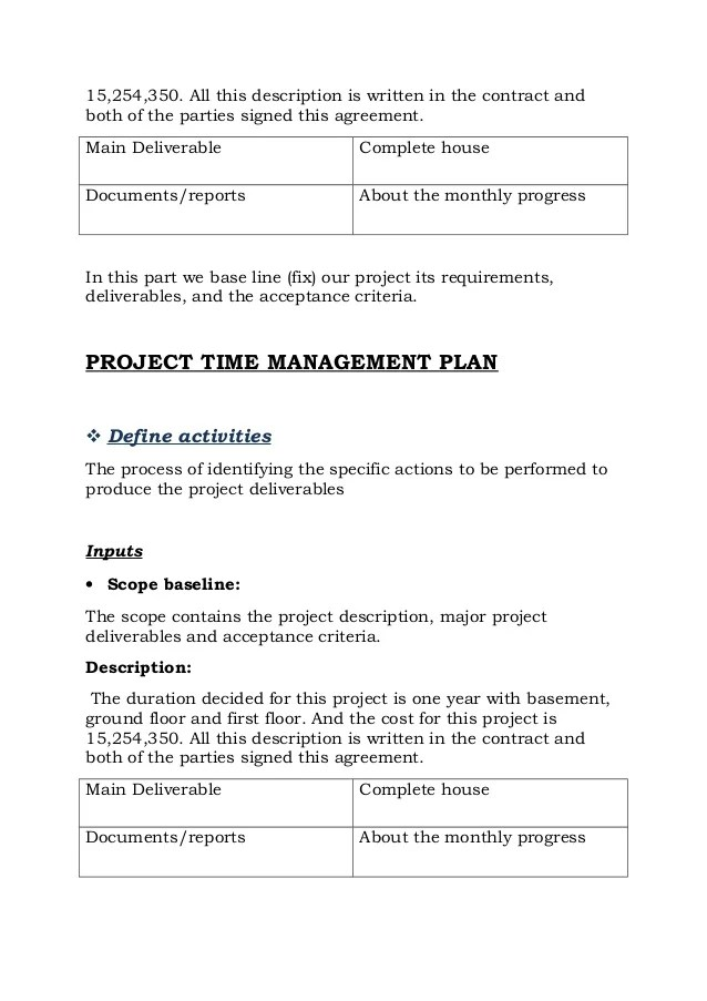 House Construction Contract Template  Benefits Of Contract