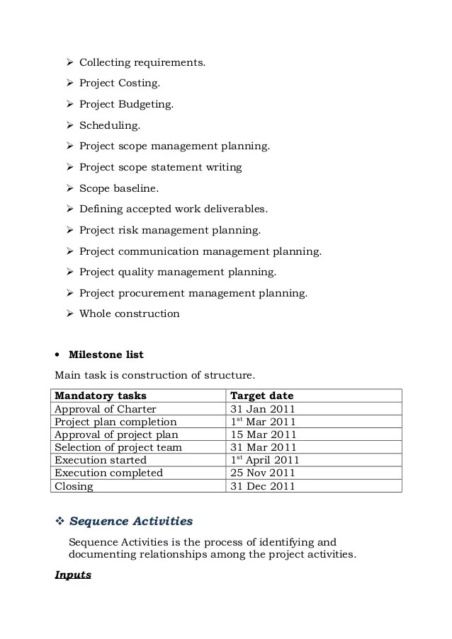 Doc12751650 Project Report Writing Template Writing a project – Construction Project Report Format