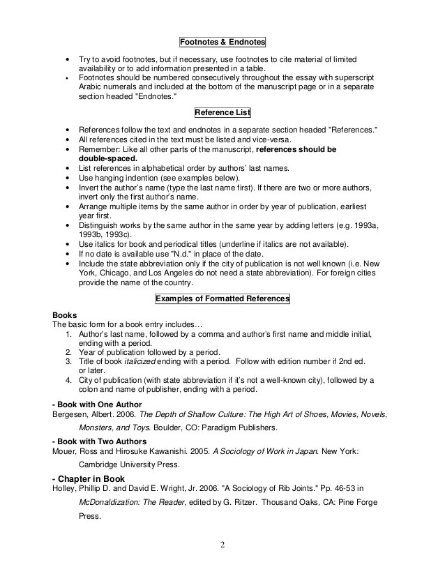 references asa format - Mersnproforum - asa style headings