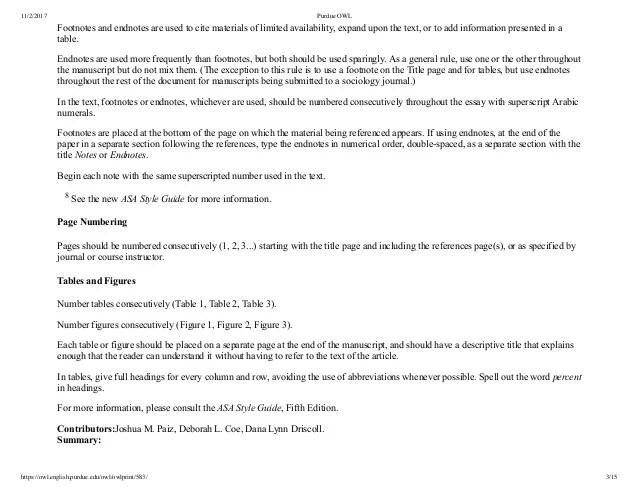 asa format purdue owl - Dolapmagnetband - Asa Essay Format Example