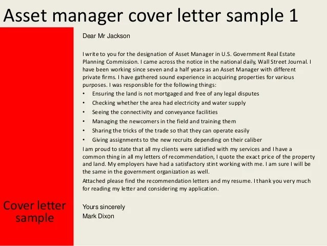 writing a cover letter for a government job