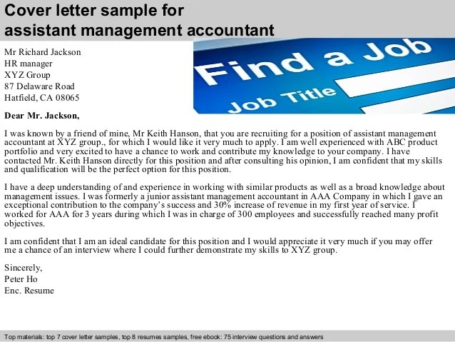 example of accounting cover letters - Minimfagency