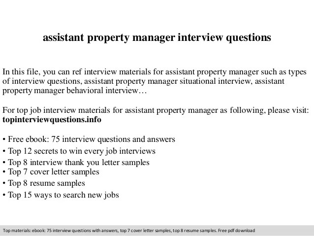 cover letter for property manager assistant - Manqalhellenes - cover letter for property manager