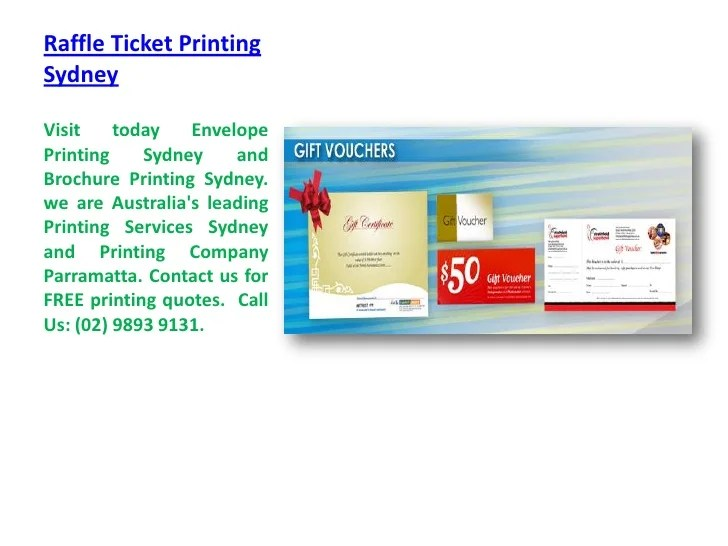 cheap raffle ticket printing