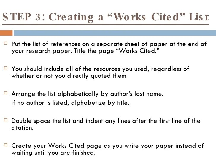 work cited pages in mla format - Eczasolinf