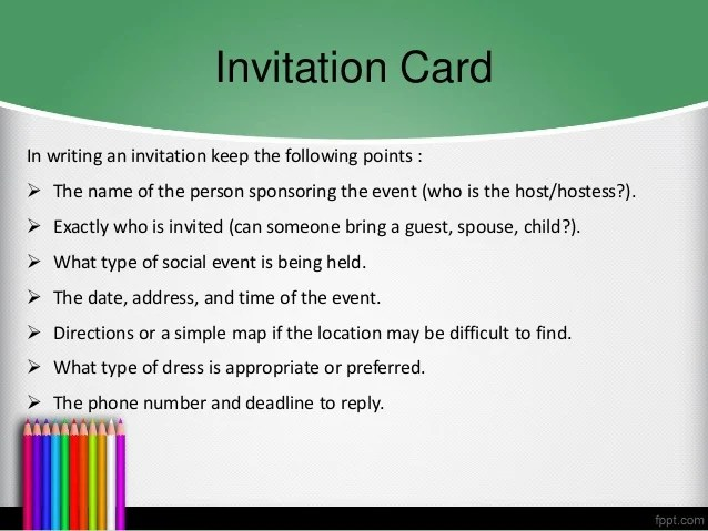 Sample Invitation Card For Social Event Invitationsweddorg