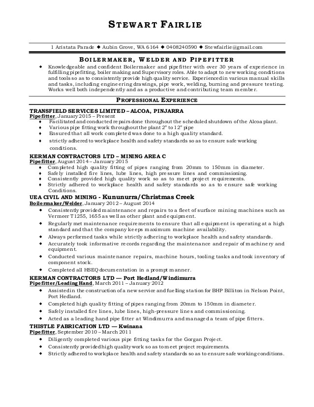 Sample Resume Cover Letter For WelderEthical Case Study In