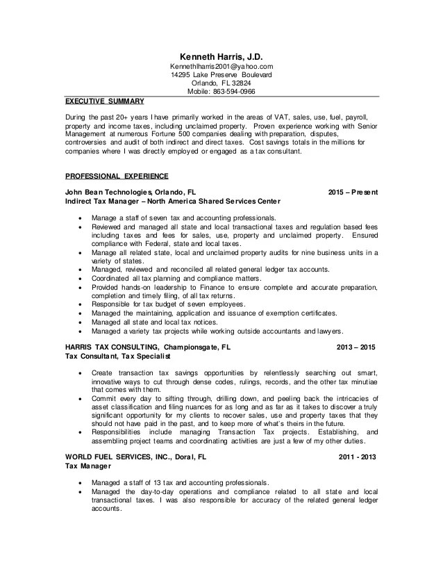 tax consultant resumes - Funfpandroid - tax consultant resume