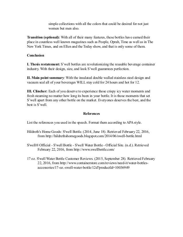 apa format for a speech - Oyuarmanmarine