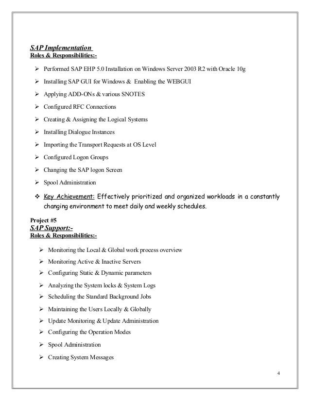 sap fico sample resumes - Vatozatozdevelopment - sap fico sample resumes