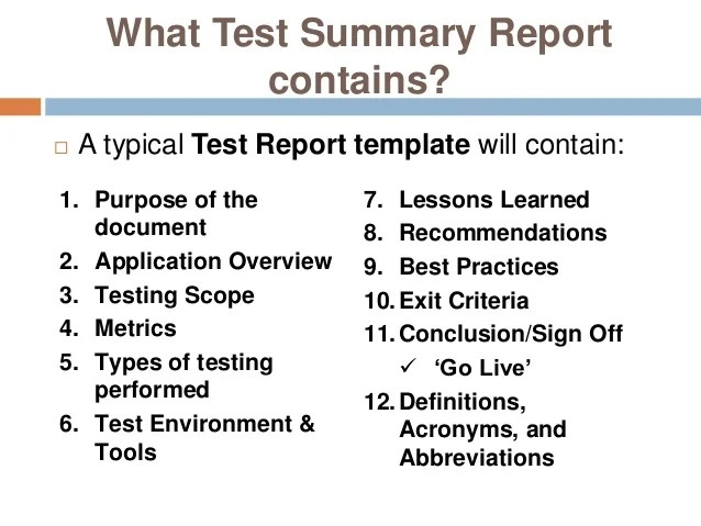What Is Incident Report In Software Testing What Is Incident Report