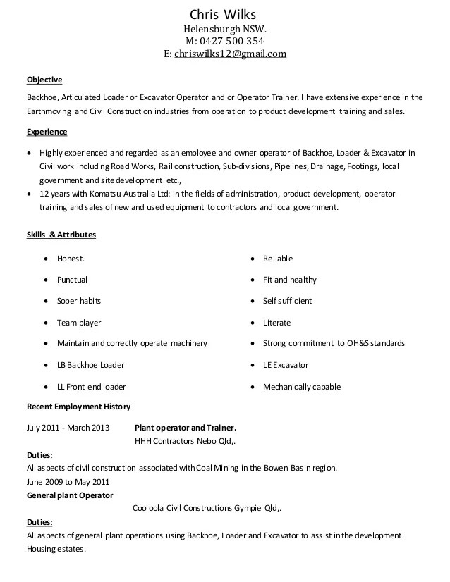 Customize this Bindery Operator Resume Resume-Now