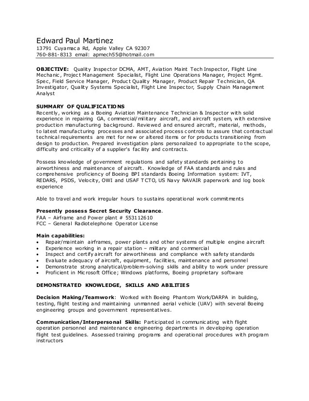 example of a rd resume
