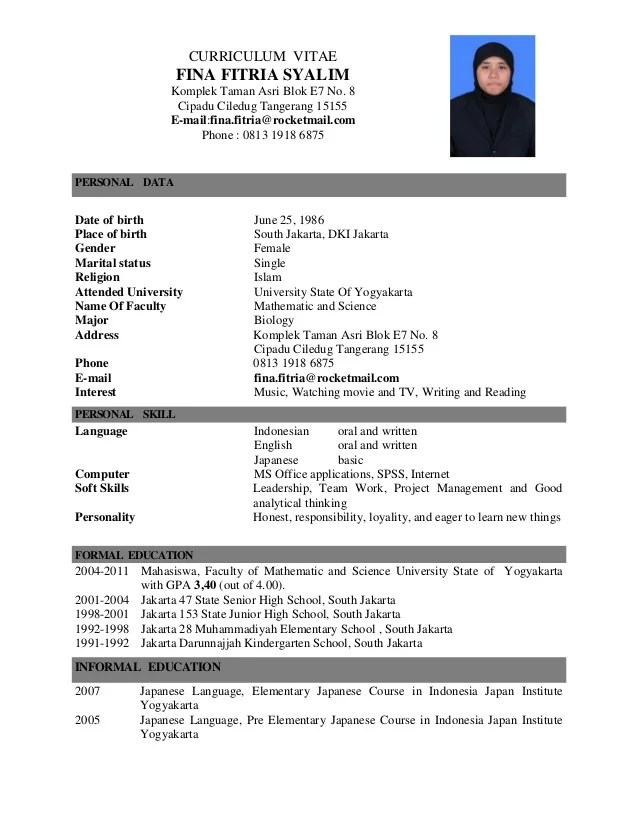 Good Latex Cv Template | Create professional resumes online
