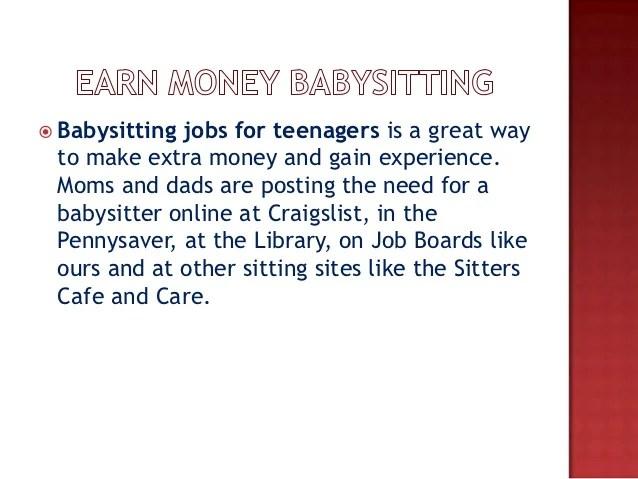 Babysitting Jobs colbro