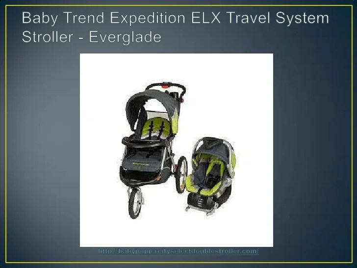 Baby Stroller That Turns Into Car Seat Baby Trend Expedition Elx Travel System Stroller