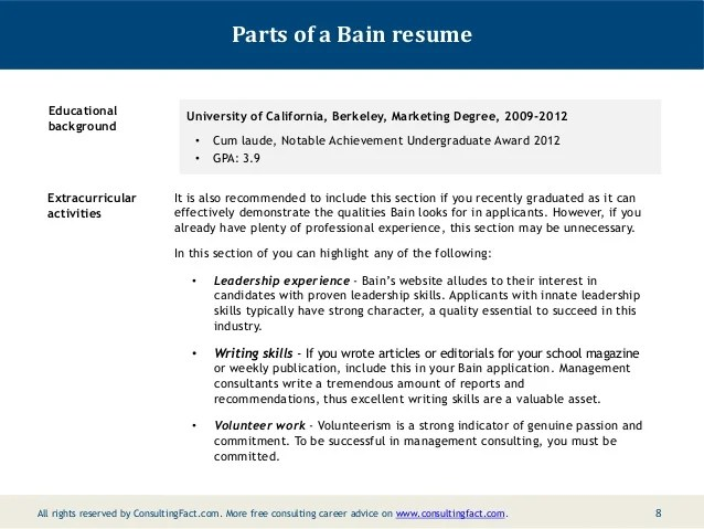 how to include extracurricular activities on a resume sample